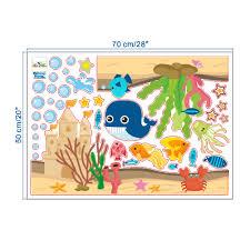 dolphin fish ocean nursery wall stickers kids room decals blog dolphin fish ocean nursery wall stickers