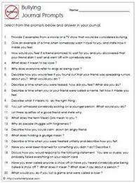 bullying worksheet journaling ideas for kids pinterest