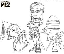 despicable me coloring pages 2 arterey info