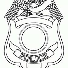 sheriff badge coloring pages coloring pages ideas