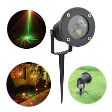 2 8 patterns r u0026g waterproof outdoor projector laser lights