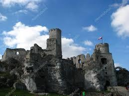 old castle ruins in poland u2014 stock photo cargol 4688539