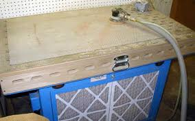 delta downdraft sanding table charles a hoffman hancrafted guitars