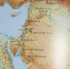 Negev Desert Map Where Is Paran Or Desert Of Paran In Time Of Abraham Hagar Ishmael