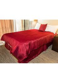 100 polyester levon checkered duvet cover with zipper closure
