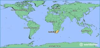 map world africa where is south africa where is south africa located in the