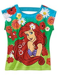 amazon disney princess mermaid tops u0026 tees