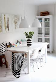 Dining Room Sets With Bench Seating by Best 25 White Dining Table Ideas On Pinterest White Dining Room
