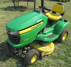2007 john deere x300 lawn mower item dt9613 sold april