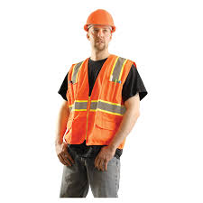 Construction High Visibility Clothing Occunomix Class 2 Two Tone Surveyor Safety Vest Lux Atrans