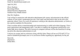 sample cover letters administrative assistant administrative