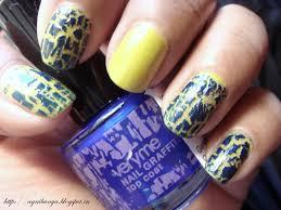 oriflame very me nail graffiti top coat blue notd review love