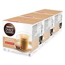 espresso macchiato double nescafe dolce gusto cortado espresso macchiato pack of 3 total