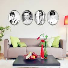 online buy wholesale 4 d wall stickers from china 4 d wall wowlee star wall stick envelope version d liz hepburn 4 league draw retro wall stick three