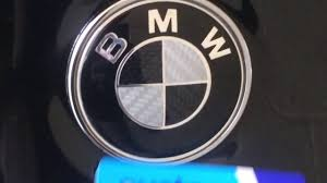 diy how to remove replace a bmw bonnet or trunk badge logo