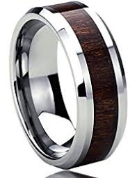 mens wedding bands wood other materials wood wedding rings jewelry