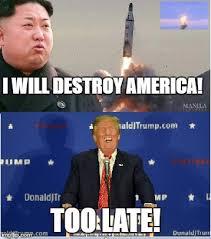Kim Jong Un Memes - kim jong un funny trump will destroy us imgflip hilarity