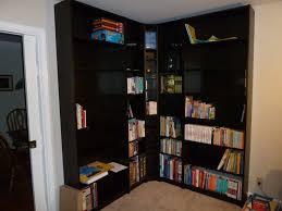 corner bookcase furniture black corner bookcase how to make corner bookcase u2013 home design