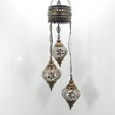 Chandelier Uk Turkish Moroccan Hanging Glass Mosaic Chandelier L