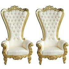 wedding chairs for sale 2 king chairs for sale