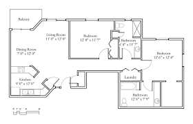 two bedroom two bath floor plans sle floor plans meadowlark continuing care retirement