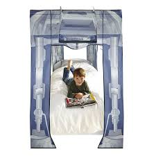 Rideau 160x240 by Star Wars Bed Canopy At At Design Fits Single Bed Amazon Co Uk