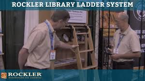 Bookcase Ladder Hardware by Rockler Library Ladder System At Awfs 2011 Presented By