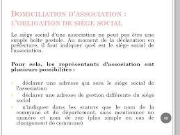 changement adresse siege social td grh licence 3 developpement social ppt télécharger