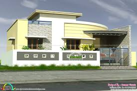 kerala home design and floor plans with great single house front