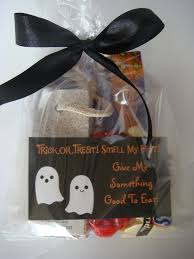 Halloween Wedding Favors It U0027s Like A Potato Halloween 2012 Gift Bags For Coworkers