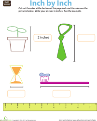 ruler reading inches worksheet education com