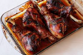 thanksgiving treat honey glaze turkey legs a thanksgiving treat neta cooks