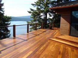 wood deck pressure treated wood decking custom decks