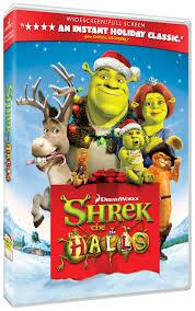 shrek halls dvd review ign