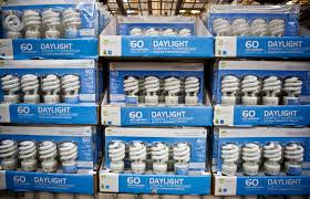 an unloved light bulb shows signs of burning out