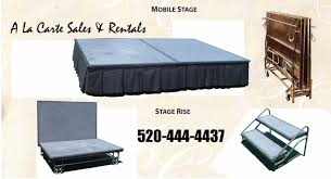 floors for rent tucson floors risers rental rent floors risers tucson az