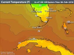 temperature map of florida intellicast current temperatures in fl key west