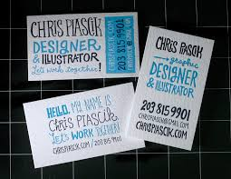Designing Business Cards In Illustrator Business Card Ideas And Inspiration 4 Business Cards