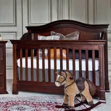 Espresso Convertible Cribs Louis 4 In 1 Convertible Crib With Toddler Rail In Espresso M3401q