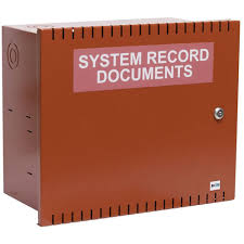 fire alarm document cabinet document storage