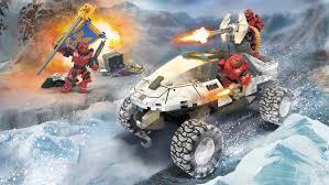 lego halo warthog halo ctf arctic warthog mega construx
