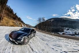 porsche snow turbo turbo everywhere auto class magazine