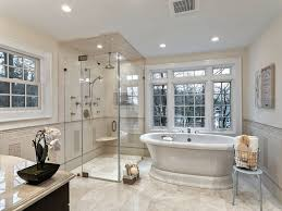 mid range bathroom design ideas pictures zillow digs zillow traditional master bathroom with frameless shower doors by dulles glass and mirror crema marfil classic