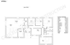 plan de maison 4 chambres gratuit maison plain pied 4 chambres nouveau plan maison plain pied