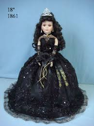 quinceanera dolls 1861black 18 inches quinceanera umbrella dolls porcelain dolls