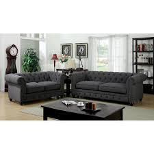 clearance home decor fabric furniture entranching tufted leather sofa for living room
