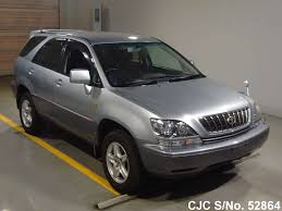 harrier lexus 2007 2001 toyota harrier silver 2 tone for sale stock no 52864