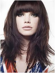 in front medium haircuts 10 simple bangs hairstyles for medium length hair front bangs