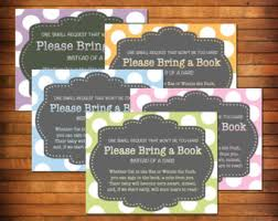 baby shower bring a book instead of a card poem bring a book baby shower invitations gangcraft net