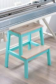 Ikea Stepping Stool Ikea Bekväm Step Stool Turquoise Wood Wooden Floor Ikea